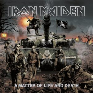 Iron Maiden - A Matter of Life and Death cover art