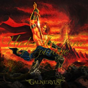 Galneryus - Under the Force of Courage cover art