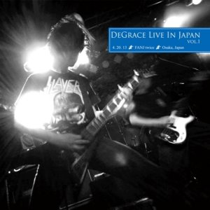 DeGrace - Live in Japan vol.1 cover art