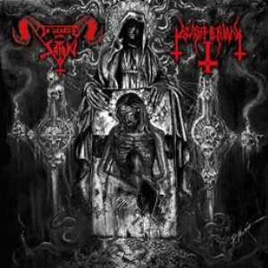 In League With Satan / Blaspherian - In League with Satan / Blaspherian cover art