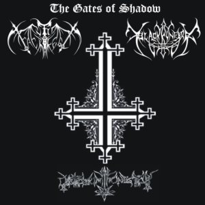 Black Funebre / Culto Sacrilego / Calvarium Funestus - The Gates of Shadow cover art