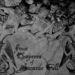 Nekrokrist SS / Calvarium Funestus - Four Chapters of Satanic Evil cover art