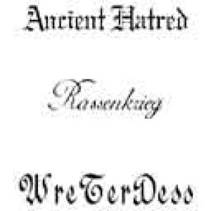 Wreterdess / Ancient Hatred - Rassenkrieg cover art
