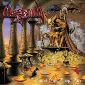 Magnum - Sacred Blood 'Divine' Lies cover art