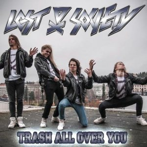 Lost Society - Trash All over You cover art
