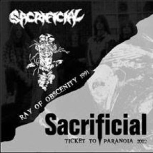 Sacrificial - Ticket to Paranoia cover art