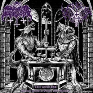 Satanic Warmaster / Archgoat - Lux Satane (Thirteen Hymns of Finnish Devil Worship) cover art