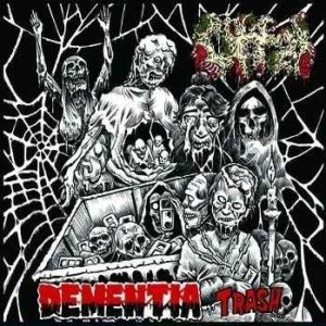 Offal - Dementia Trash / Motel Hell cover art