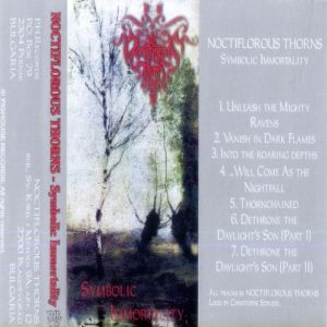 Noctiflorous Thorns - Symbolic Immortality cover art