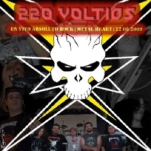 220 Voltios - En Vivo - Absoluto Rock cover art