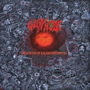 Glory Hole - Infestation of Evilized Deformities cover art