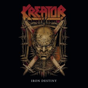 Kreator - Iron Destiny cover art