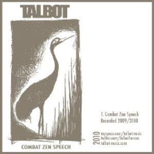 Talbot - Combat Zen Speech cover art