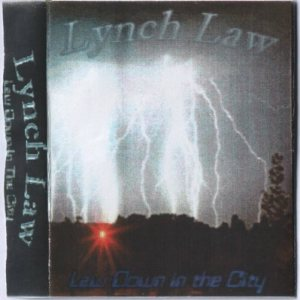 Lynch Law - Law Down in the City cover art