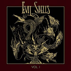 Throaat / Occult Burial - Evil Spells, Volume I cover art
