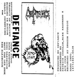Defiance - Hypothermia cover art