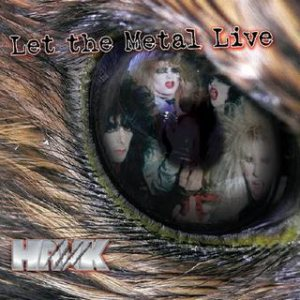 Hawk - Let the Metal Live cover art