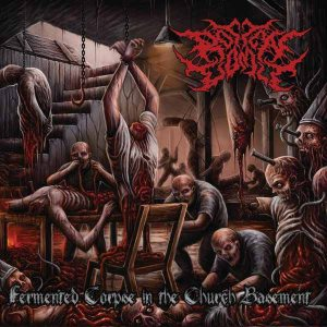Rotten Vomit - Fermented Corpse in the Church Basement cover art
