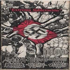Corpses / Agathocles / Averno / Overthrow / Ossuary - Extrema Sublevación cover art