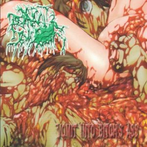 Cuntshredder - Vomit Into Bitch's Ass cover art