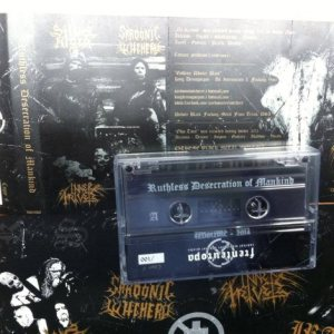 Sardonic Witchery - Ruthless Desecration of Mankind cover art