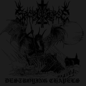 Sacrocurse - Destroying Chapels cover art