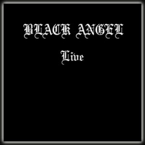 Black Angel - Live cover art
