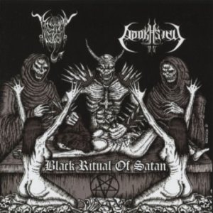 Black Angel / Adokhsiny - Black Ritual of Satan cover art