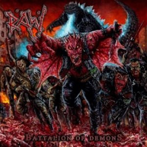 Raw - Battalion of Demons cover art