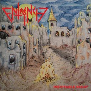 Entrench - Inevitable Decay cover art