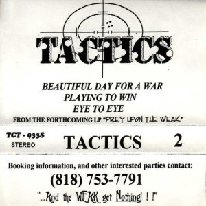 Tactics - Tactics 2 cover art