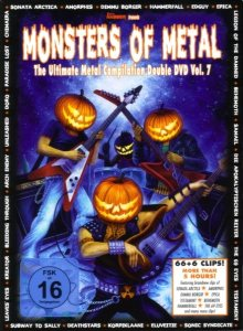 Various Artists - Monsters of Metal Vol. 7 cover art