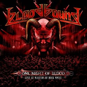 Bloodbound - One Night of Blood cover art