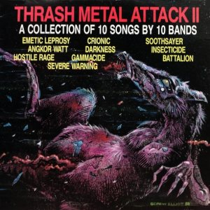 Various Artists - Thrash Metal Attack! II cover art