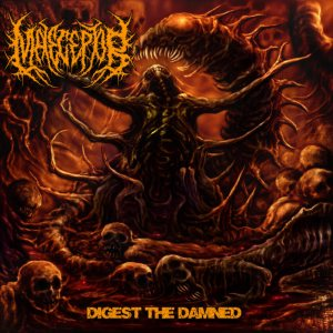Maleceptor - Digest the Damned cover art