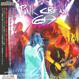 Pink Cream 69 - Live in Karlsruhe cover art