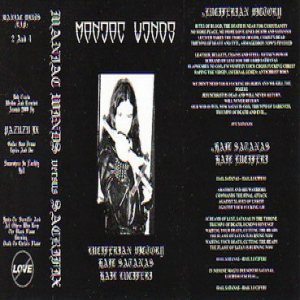 Maniac Winds - Maniac Winds Versus Sacrifix cover art