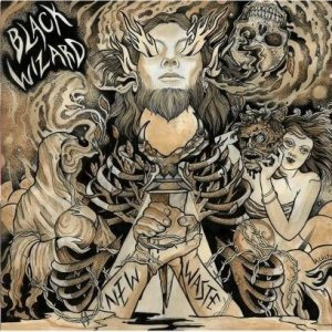 Black Wizard - New Waste cover art
