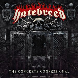 Hatebreed - The Concrete Confessional cover art