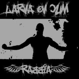 Larva ov Cum - Rabbia cover art
