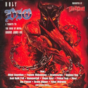 Various Artists - Holy Dio: a Tribute to the Voice of Metal: Ronnie James Dio cover art