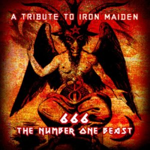 Various Artists - 666 the Number One Beast: a Tribute to Iron Maiden cover art