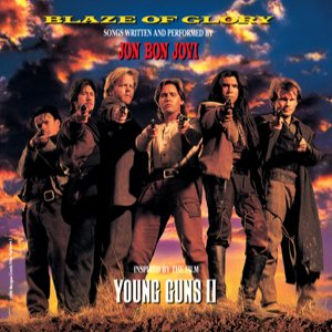 Jon Bon Jovi - Blaze of Glory - Young Guns II cover art