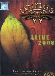 Wings - Alive 2006 cover art