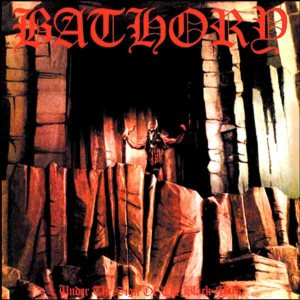 Bathory - Under the Sign of the Black Mark cover art