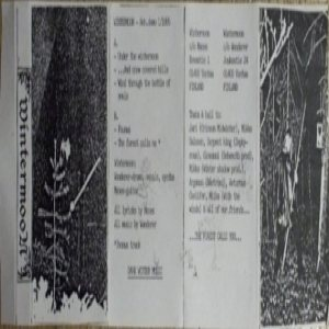Wintermoon - Reh. Demo 1/1995 cover art