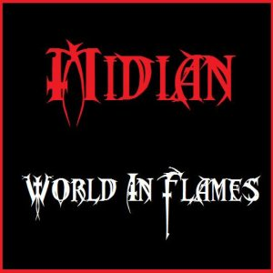 Midian - World in Flames cover art