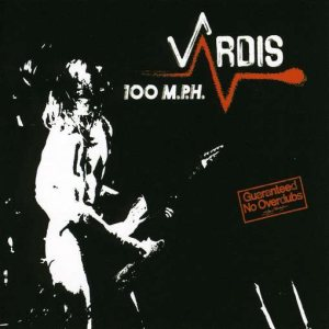 Vardis - 100 MPH cover art
