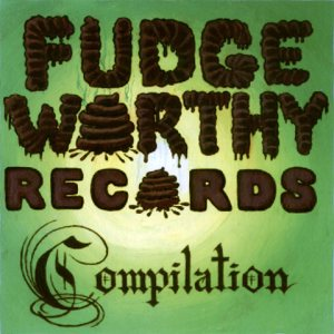 GG Allin - Fudgeworthy Records Compilation cover art