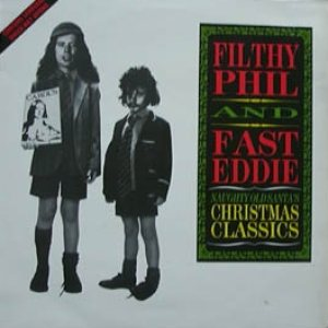 Fast Eddie Clarke / Filthy Phil - Naughty Old Santa's Christmas Classics cover art